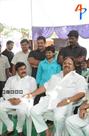 Dasari Narayana Rao and Chiru at Vadde Ramesh 1st Year Ceremony