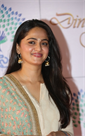 Anushka New Stills At Memu Saitam Dinner with Stars Red Carpet Event